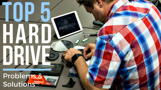 Top 5 Hard Drive Problems and Solutions