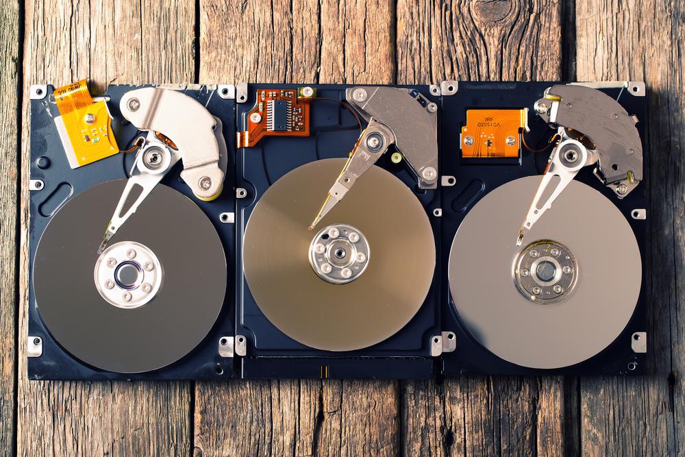 hard drive broke