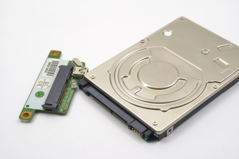 physical hard drive